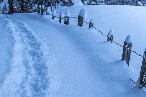 Заметает зима, заметает… Кунашакцы недовольны работами по расчистке снежных завалов