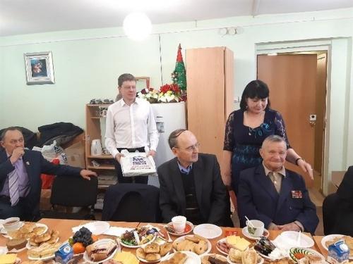 С надеждой на лучшее. В преддверии Нового года кунашакские ветераны встречали гостей