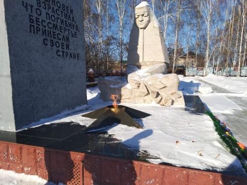 Мы помним! В Кунашакском районе приводят в порядок памятники павшим героям