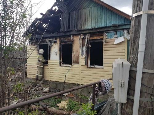 Поджог не исключается. В Кунашакском районе красный петух заглянул на водокачку