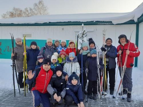 Лыжню! В Кунашаке начала работу новая лыжная база