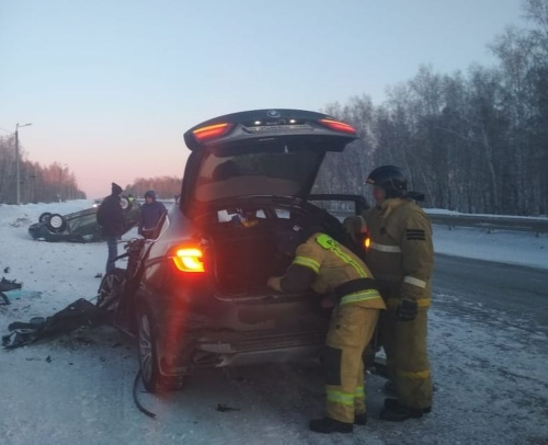 Трагедия на дороге. В Кунашакском районе в аварии погиб пассажир иномарки