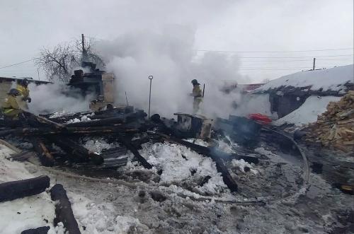 Без жертв не обошлось. В Кунашакском районе при пожаре погиб человек